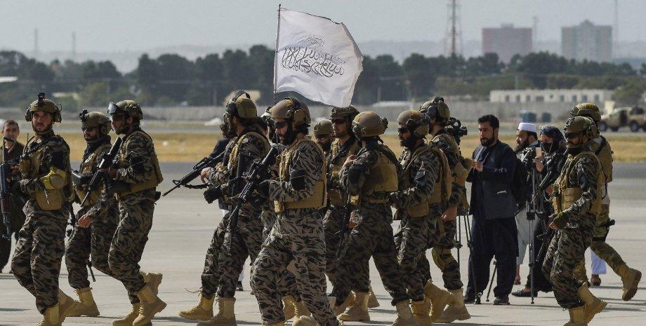 виведення військ з афганістану, талібан
