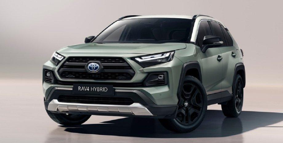 новый дизайн Toyota RAV4, обновленный кроссовер Toyota RAV4 2022, экстерьер Toyota RAV4 2022 Adventure