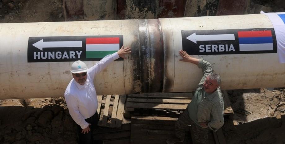 венгрия, газопровод, фото