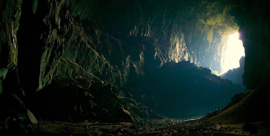 пещера, земля, свет, фото