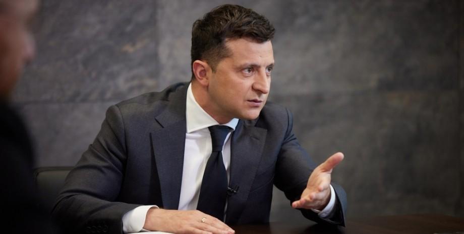 Володимир Зеленський, президент України