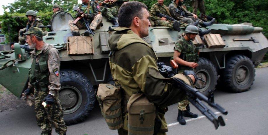 Боевики в Донбассе / Фото: Радио Свобода