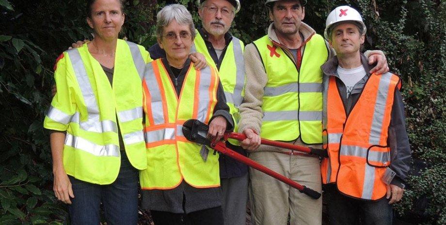 Члены группы Valve Turners. Фото: Climate Defense Project