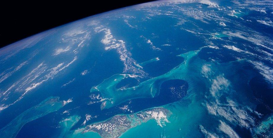Земля, космос, океани, знімок