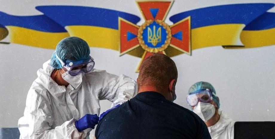 вакцинация, коронавирус, украина, фото