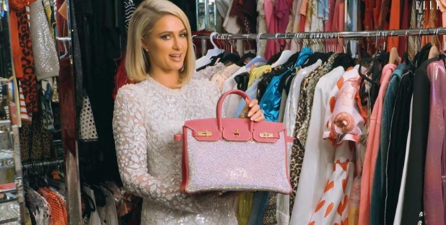 Періс Хілтон, сумка, Hermès Birkin