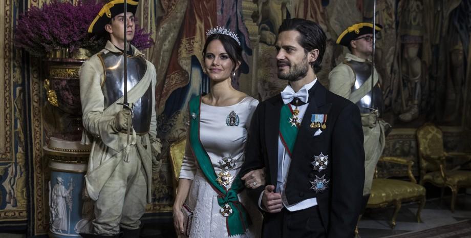 принцесса София, принц Карл Филипп, Швеция, королевская семья