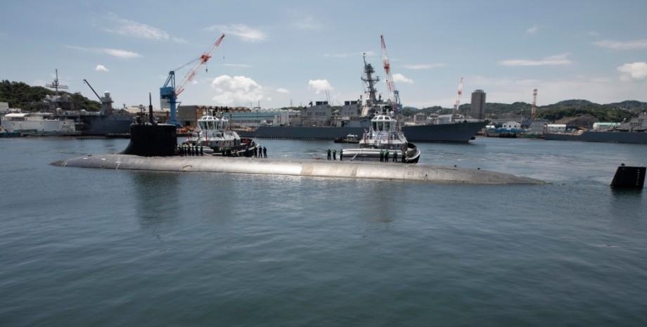 USS Connecticut, підводний човен, сша, фото