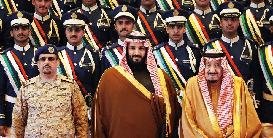 Мухаммед бин Салман (в центре) / Фото: Getty Images