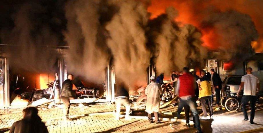 Більше 10 людей загинули після пожежі в ковідному госпіталі в Північній Македонії