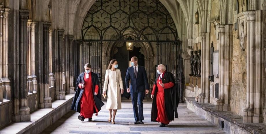герцоги Кембриджського, Вестмінстерське абатство