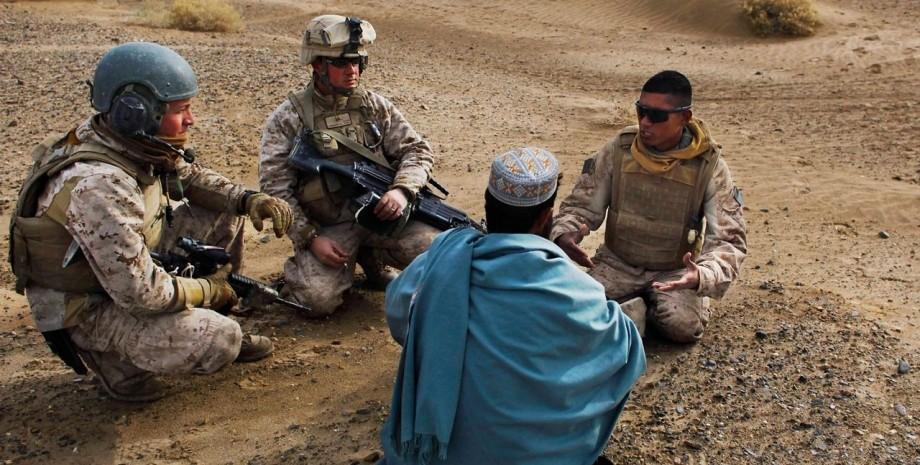 Афганістан, Британія, військові,