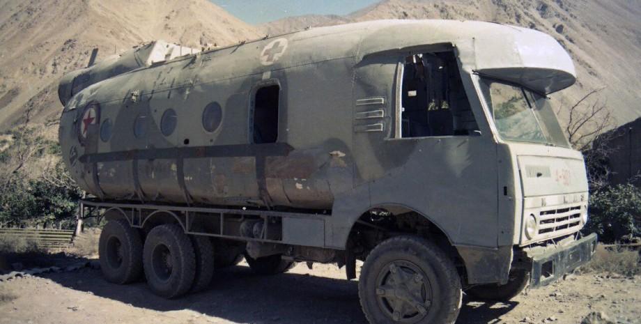 симбіоз вантажівки і вертольота моджахеди