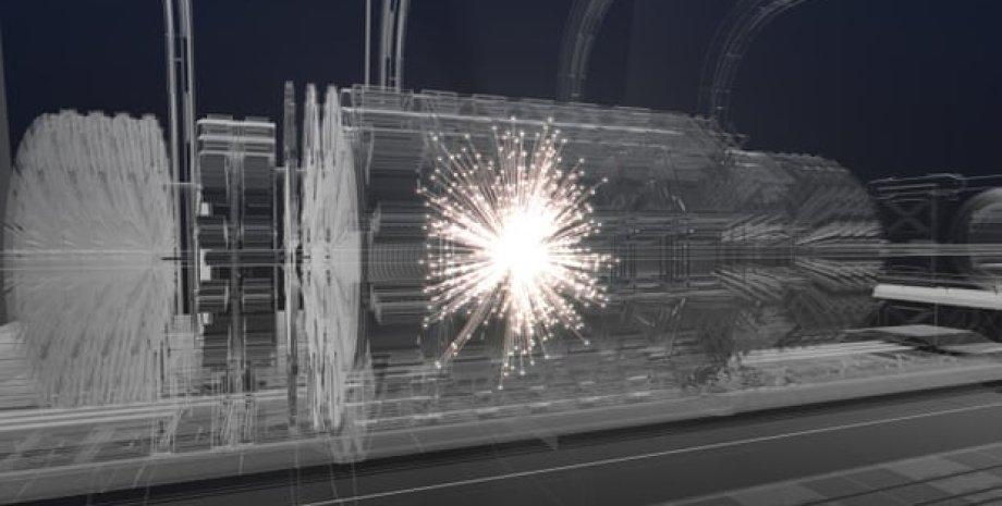 Концепт будущего коллайдера. CERN