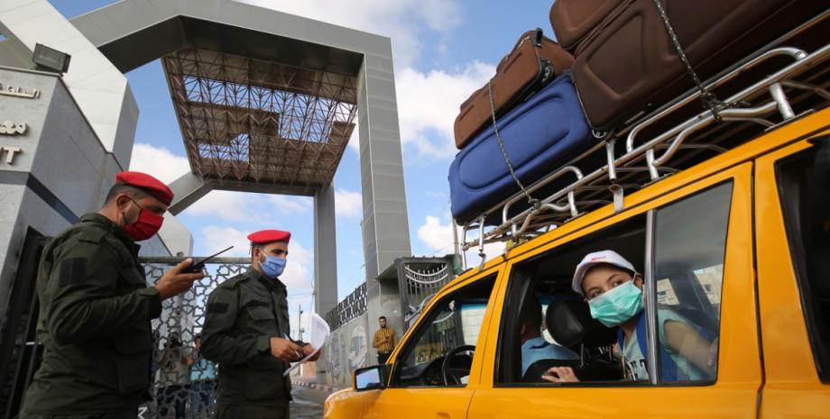 египет, контроль, граница, коронавирус, фото