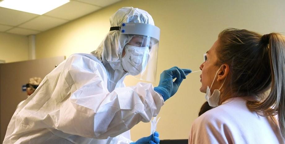 коронавирус, врач, пациент, фото