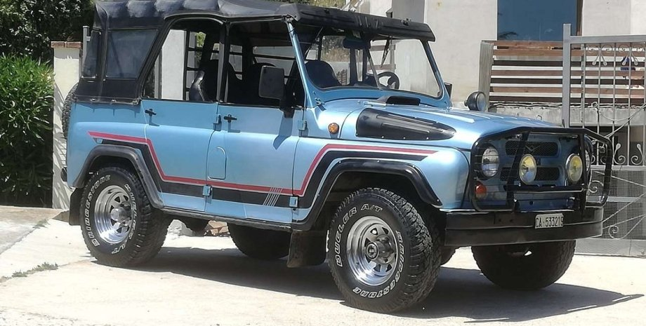 УАЗ-469, УАЗ, купіь УАЗ, УАЗ в Європі, УАЗ 1987 року