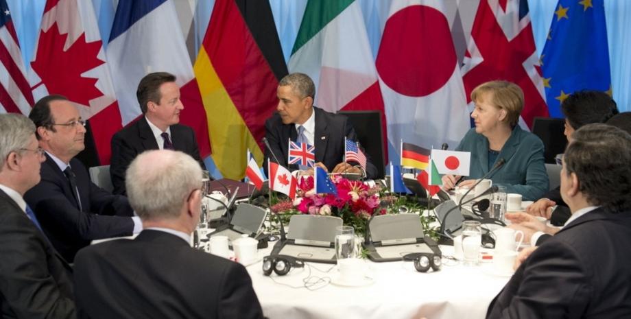 Заседание лидеров G7 / Фото: AFP
