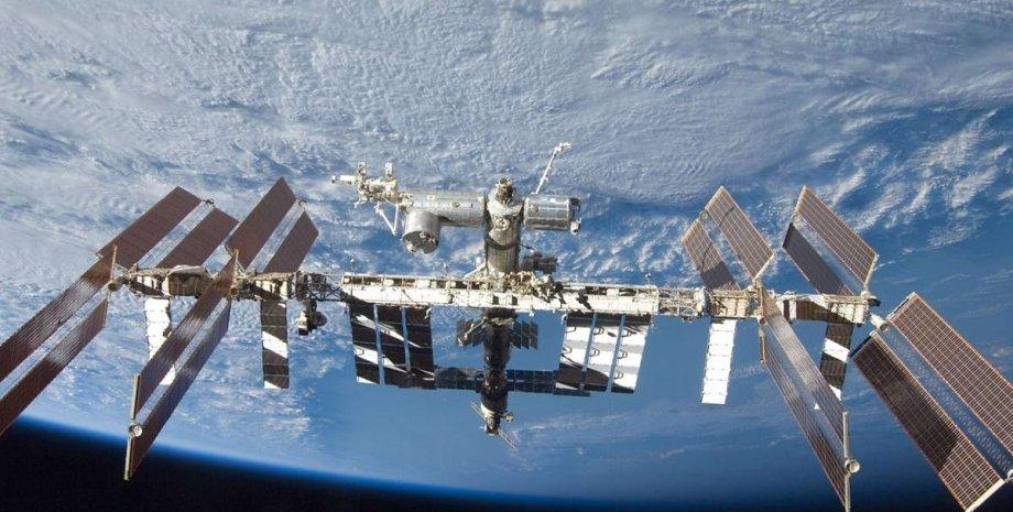 МКС, космос, астронавти