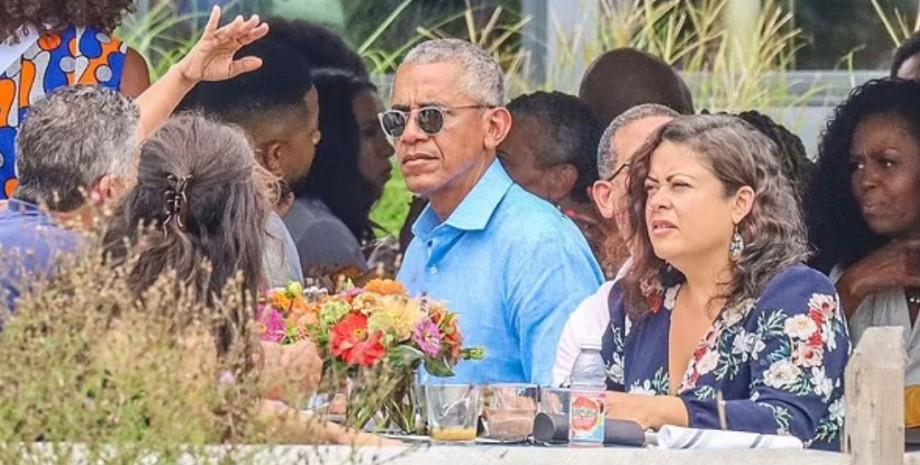 Барак Обама, вечеринка, коронавирус,