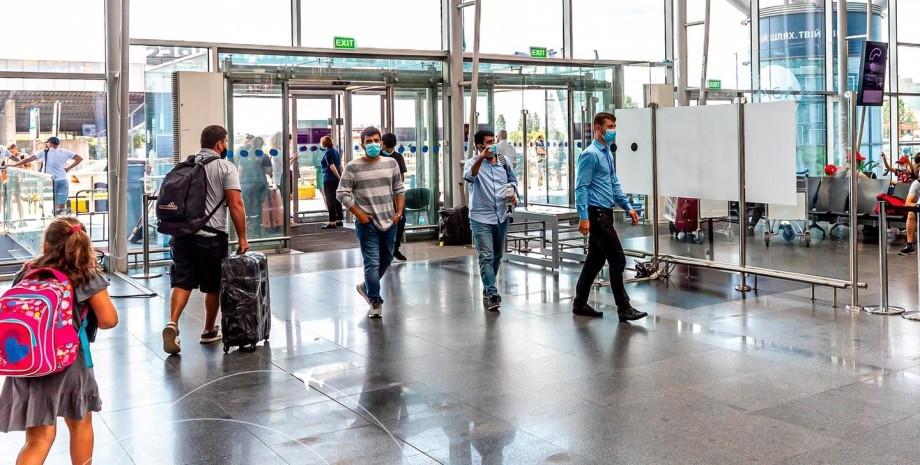 аеропорт, бориспіль, вхід в термінал, фото