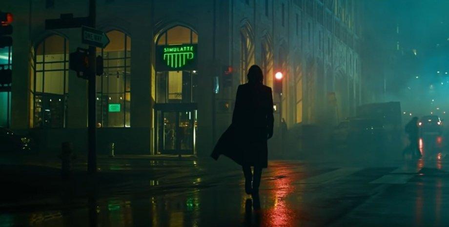 """Кіану Рівз у фільмі """"Матриця 4"""", трейлер матриця-4"""