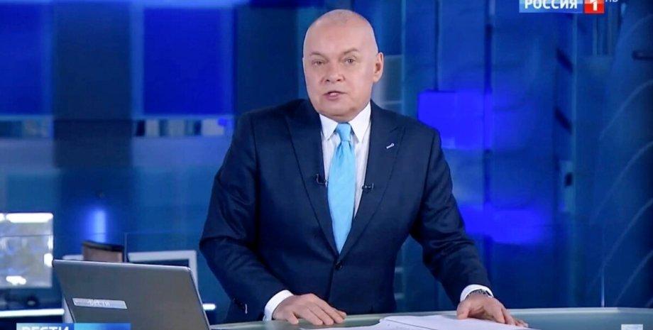Дмитро Кисельов в ефірі