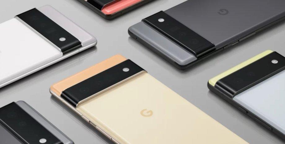 Pixel 6, Google, смартфони