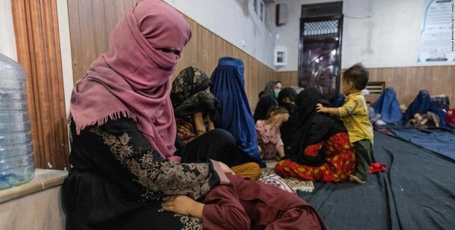 ситуація з правами жінок в Афганістані