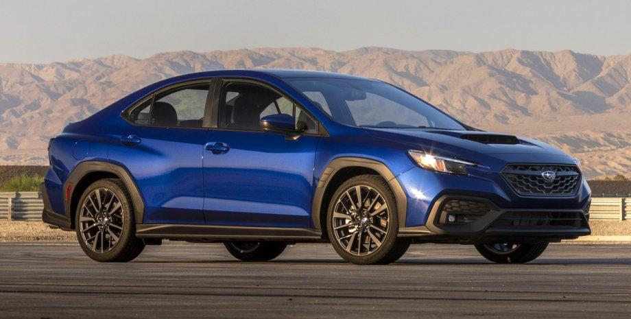 седан Subaru WRX нового поколения, новый турбированный седан