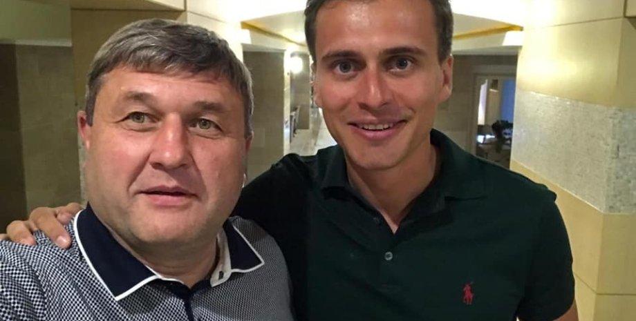 Сергей Литвиненко и Александр Скичко / Фото: facebook.com/ Сергей Литвиненко