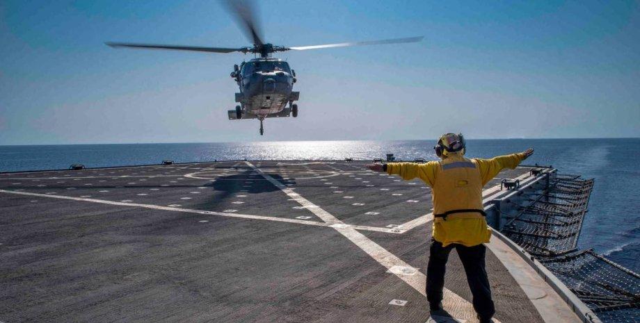 падение вертолета в США