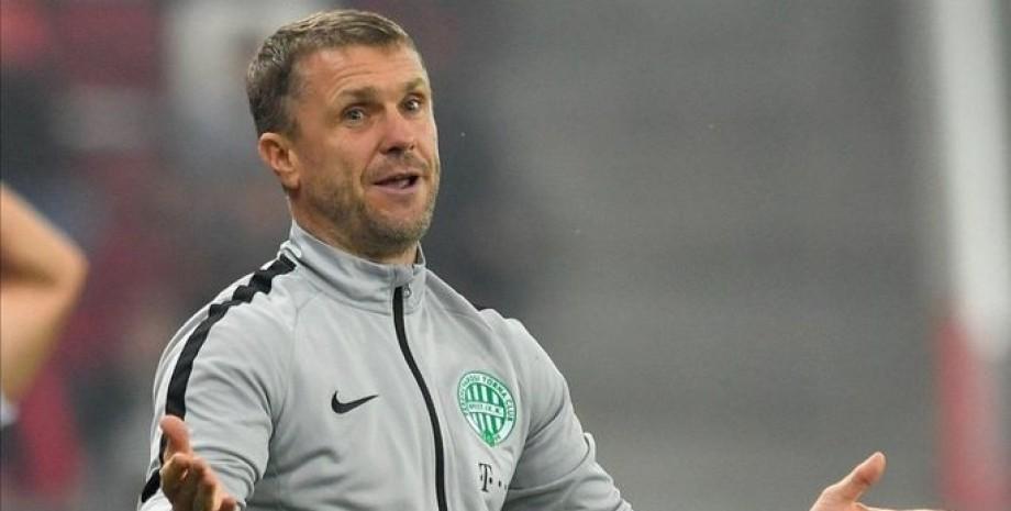 Сергей Ребров, сборная Украины, главный тренер