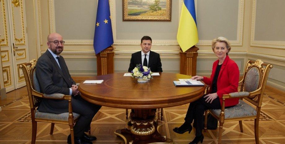 В Киеве стартовал 23-й саммит Украина-ЕС