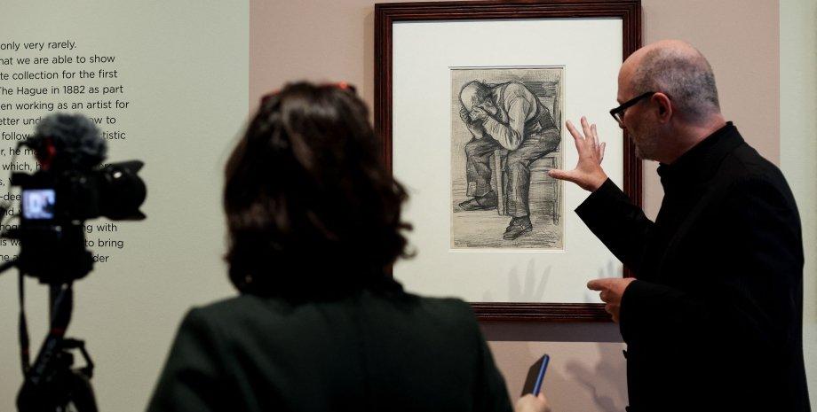 этюд Ван Гога в музее Амстердама