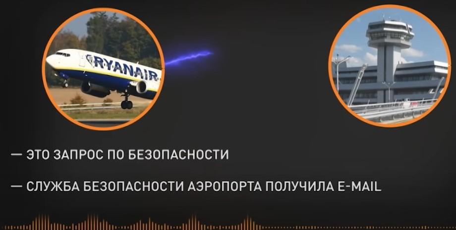 Ryanair, Минск, аэропорт, диспетчер, переговоры,