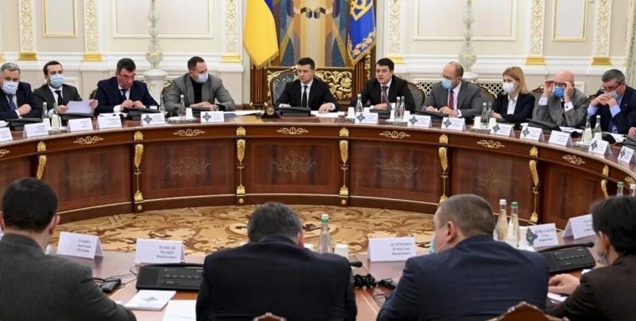 РНБО, санкції, засідання