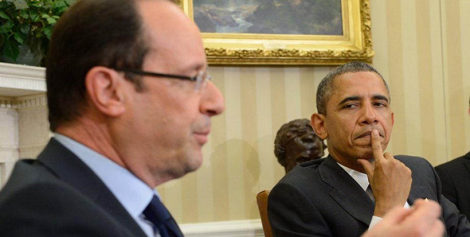 Франсуа Олланд и Барак Обама / Фото: rus.ruvr.ru