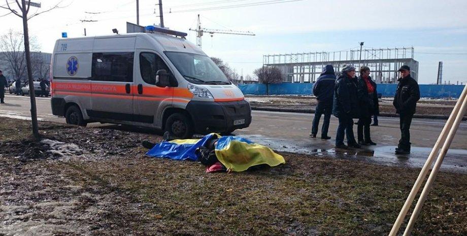 После теракта в Харькове / Фото: Facebook/Slava Mavrichev