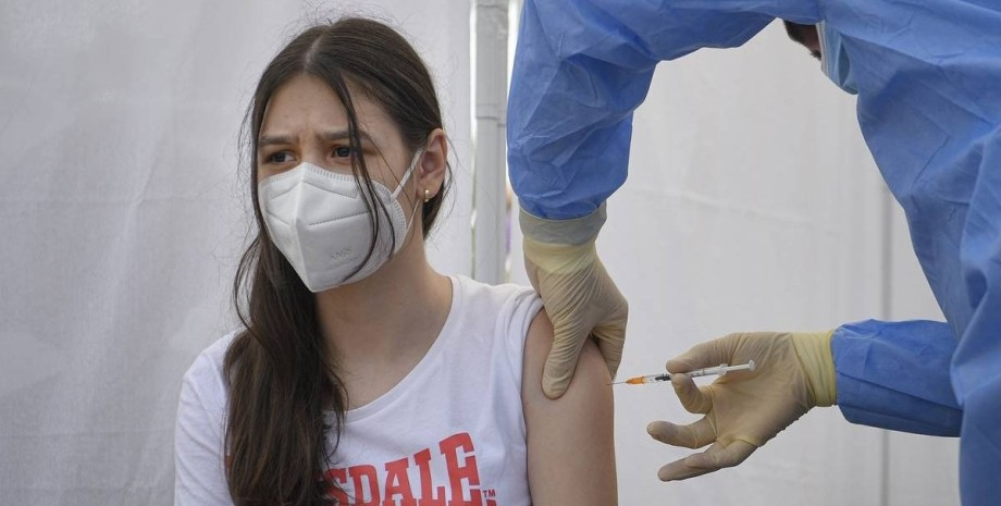 діти, коронавірус, вакцинація,