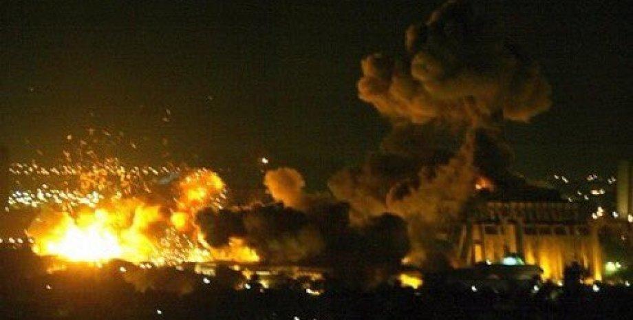 Результаты ракетного удара в Дамаске / Фото: twitter.com/OmarKuddus/