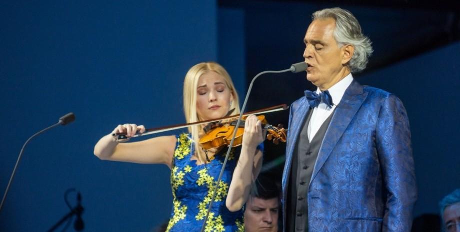 концерт Андреа Бочелли