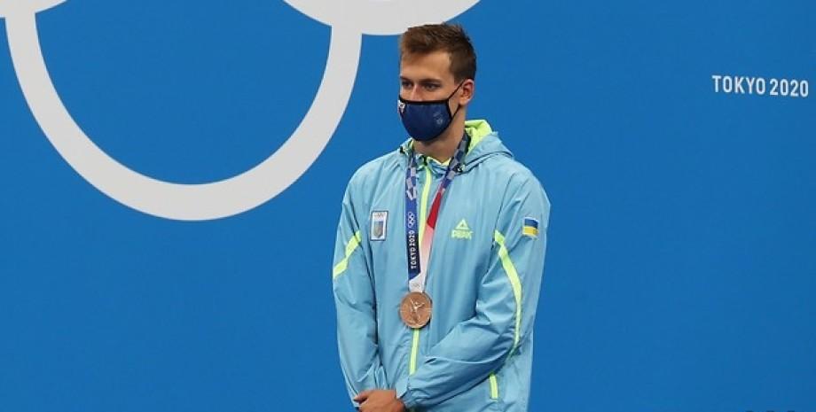 Михаил Романчук, Олимпиада-2020