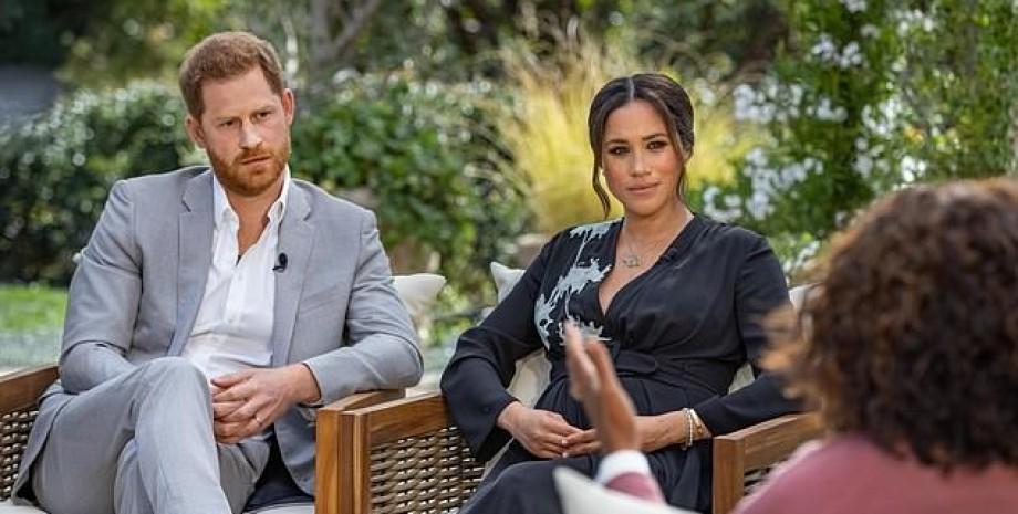 інтерв'ю Меган Маркл і принца Гаррі, Опра Вінфрі, інтерв'ю, скандальне інтерв'ю