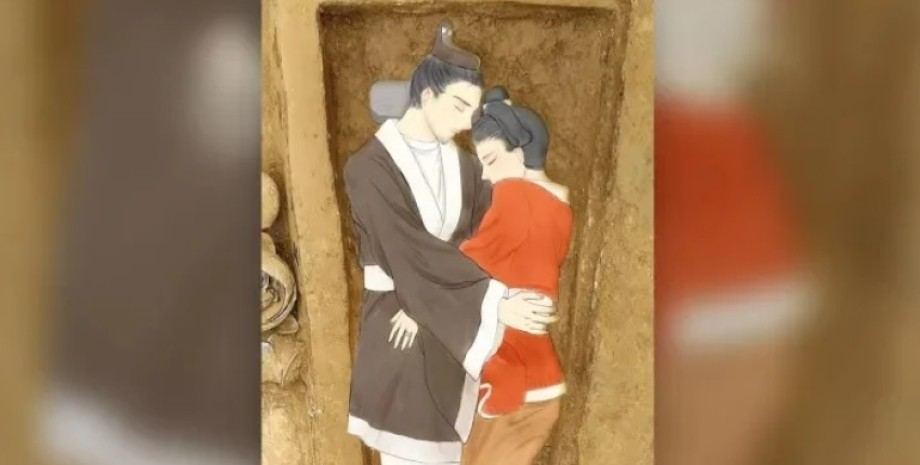 влюбленные, археология, Китай