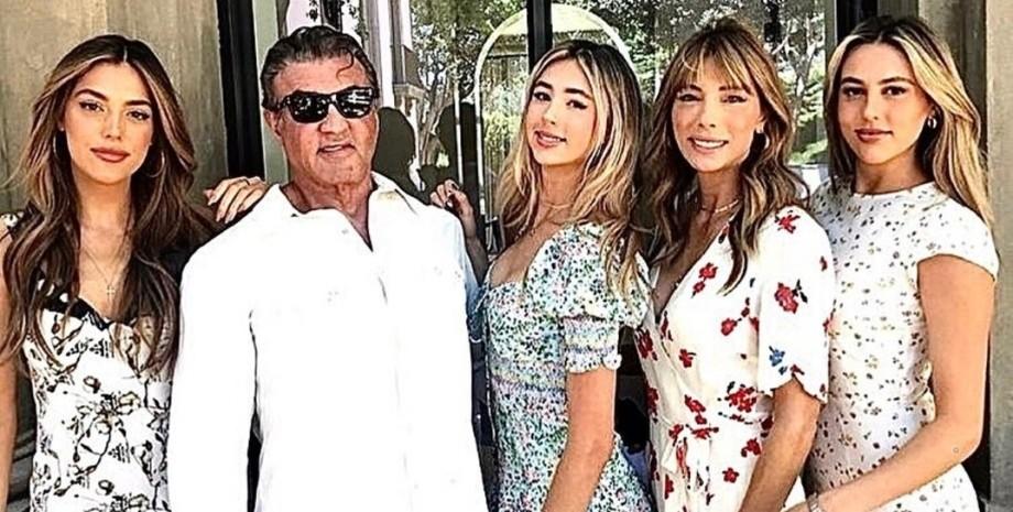 Сталлоне, семья