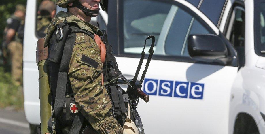 Миссия ОБСЕ / Фото: Reuters