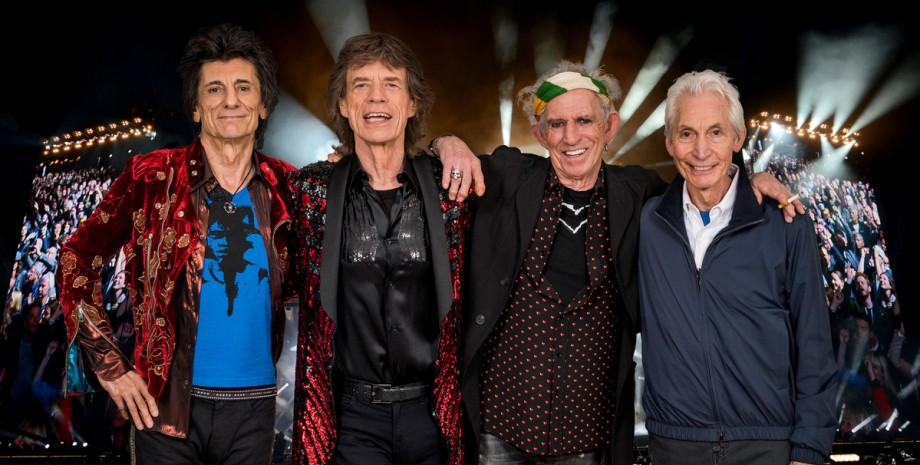 The Rolling Stones, Мік Джаггер, Чарлі Воттс, Ронні Вуд, Кіт Річардс
