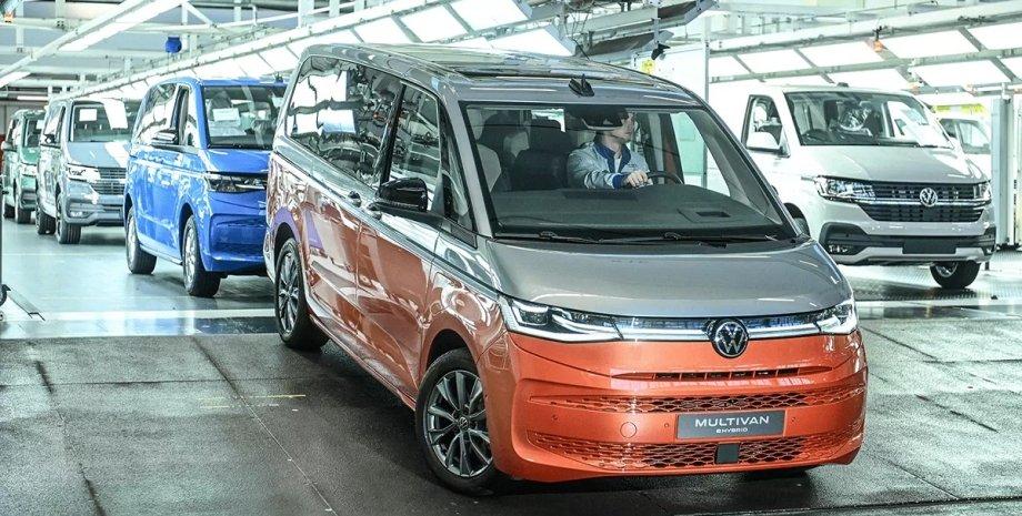 Volkswagen Multivan T7, Volkswagen T7, новий Volkswagen Multivan, Volkswagen Multivan 2022