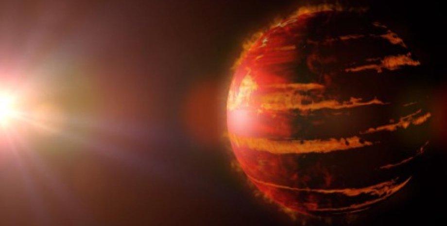 Экзопланета, горячий Юпитер, газовый гигант